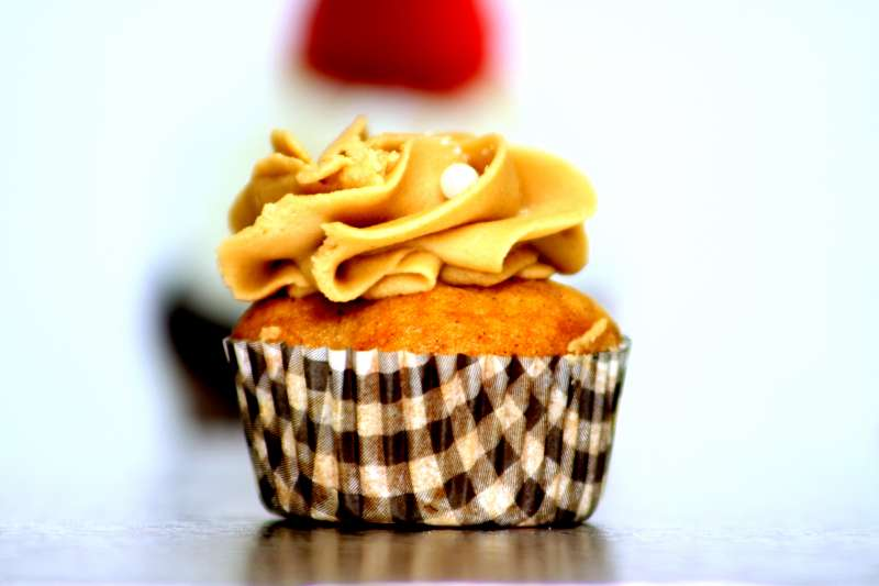 Cupcake Pommes Speculoos